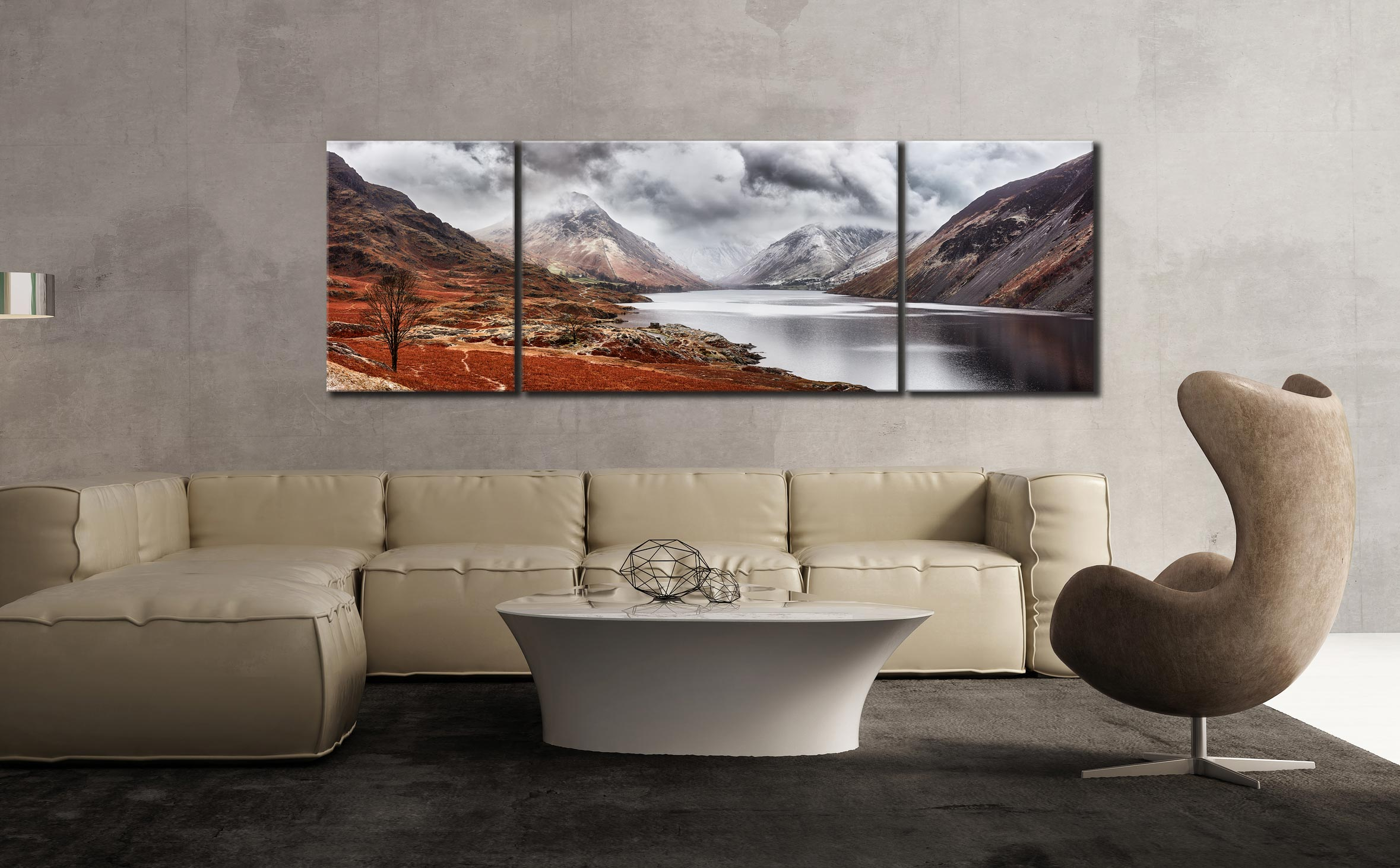 Red Wast Water Canvas on Wall