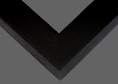 Black Solid Wood Frame