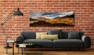 Autumn Fades Over Grasmere - Canvas Print on Wall