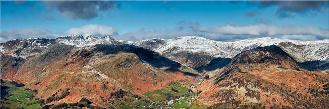 Glenridding Panorama - Canvas Print