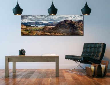 Kings How and Derwent Water - Canvas Print on Wall