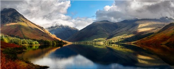 Wasdale Head Panorama - Lake District Print