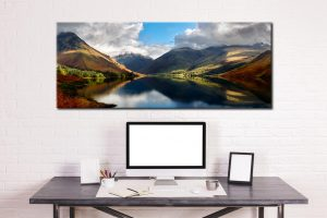 Wasdale Head Panorama - Canvas Print on Wall