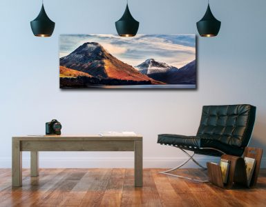 Yewbarrow and Great Gable - Canvas Print on Wall