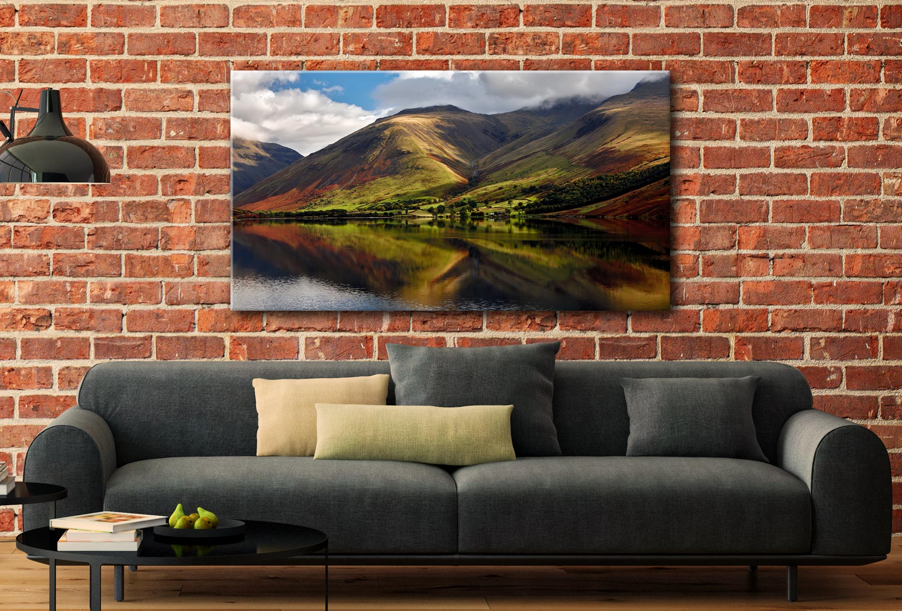 Green Fells of Wasdale - Canvas Print on Wall