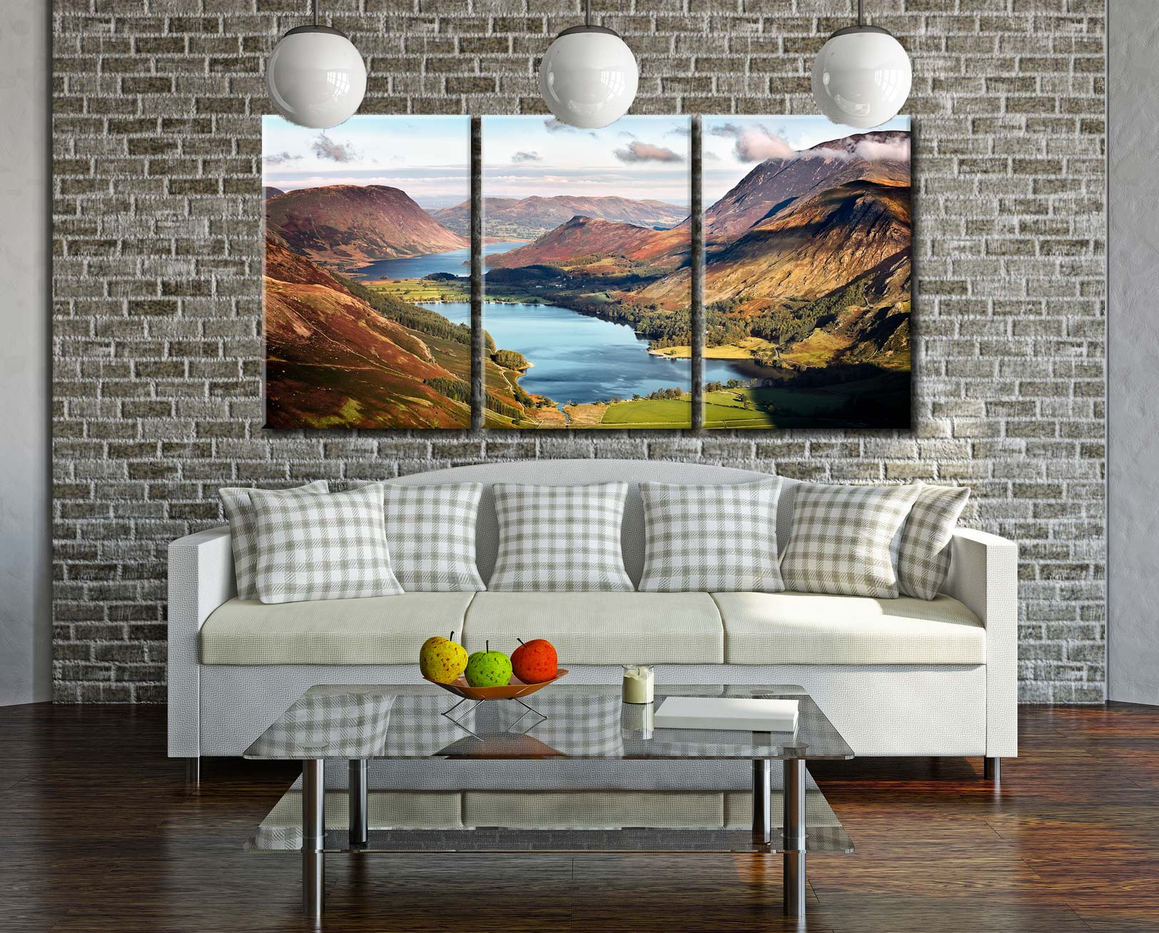 Buttermere and Crummock Water - Lake District Canvas