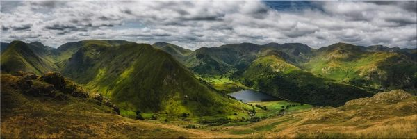 Satura Crag Panorama - Lake District