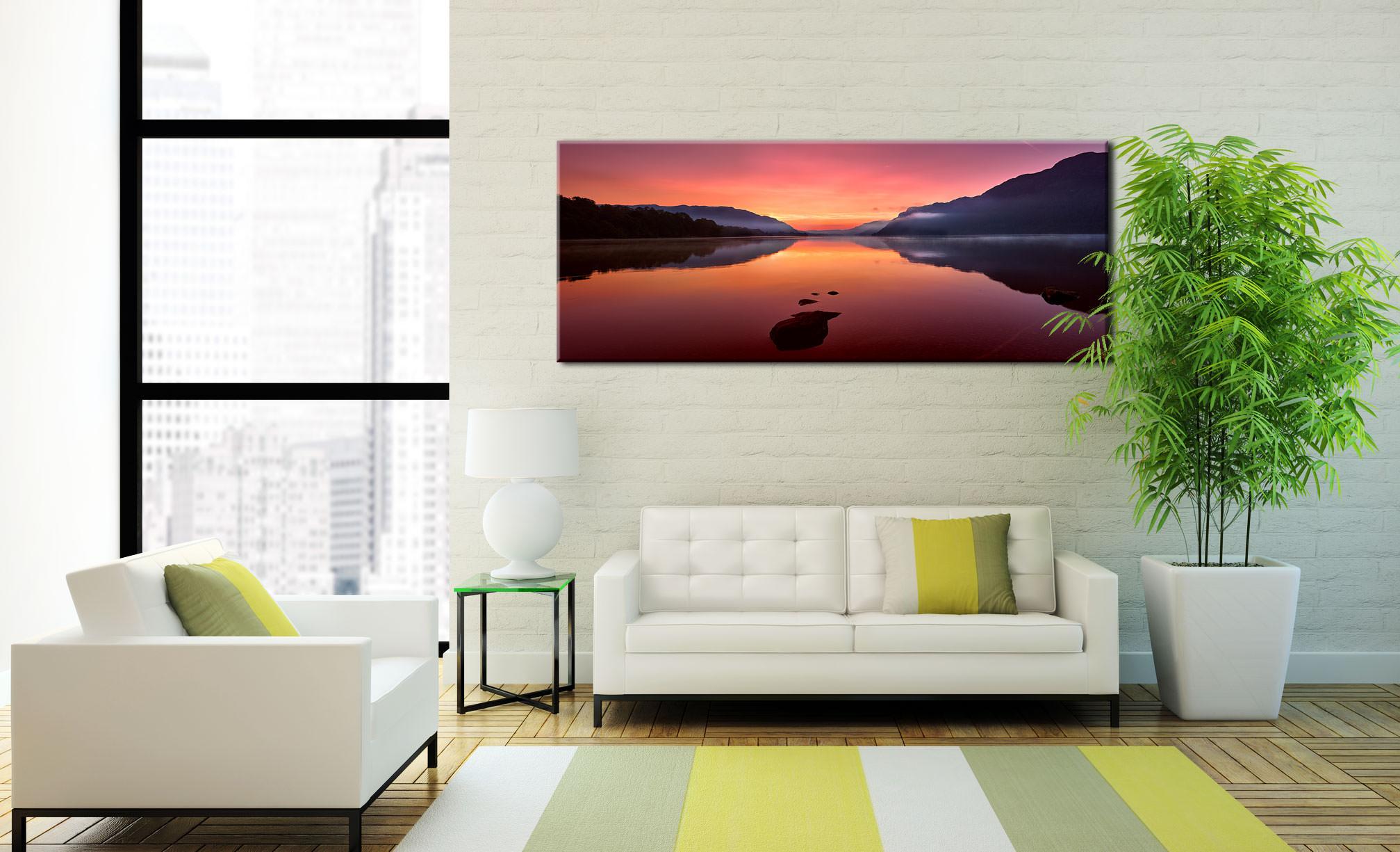 Ullswater Golden Sunrise - Canvas Print on Wall
