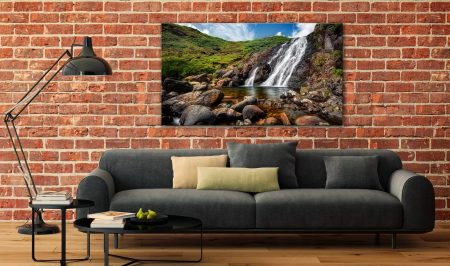 Easedale Falls - Canvas Print on Wall
