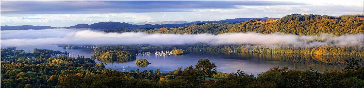Lake District Panoramic Canvas Wall art