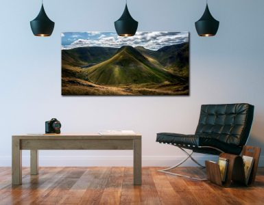 Gray Crag and High Street - Canvas Print on Wall