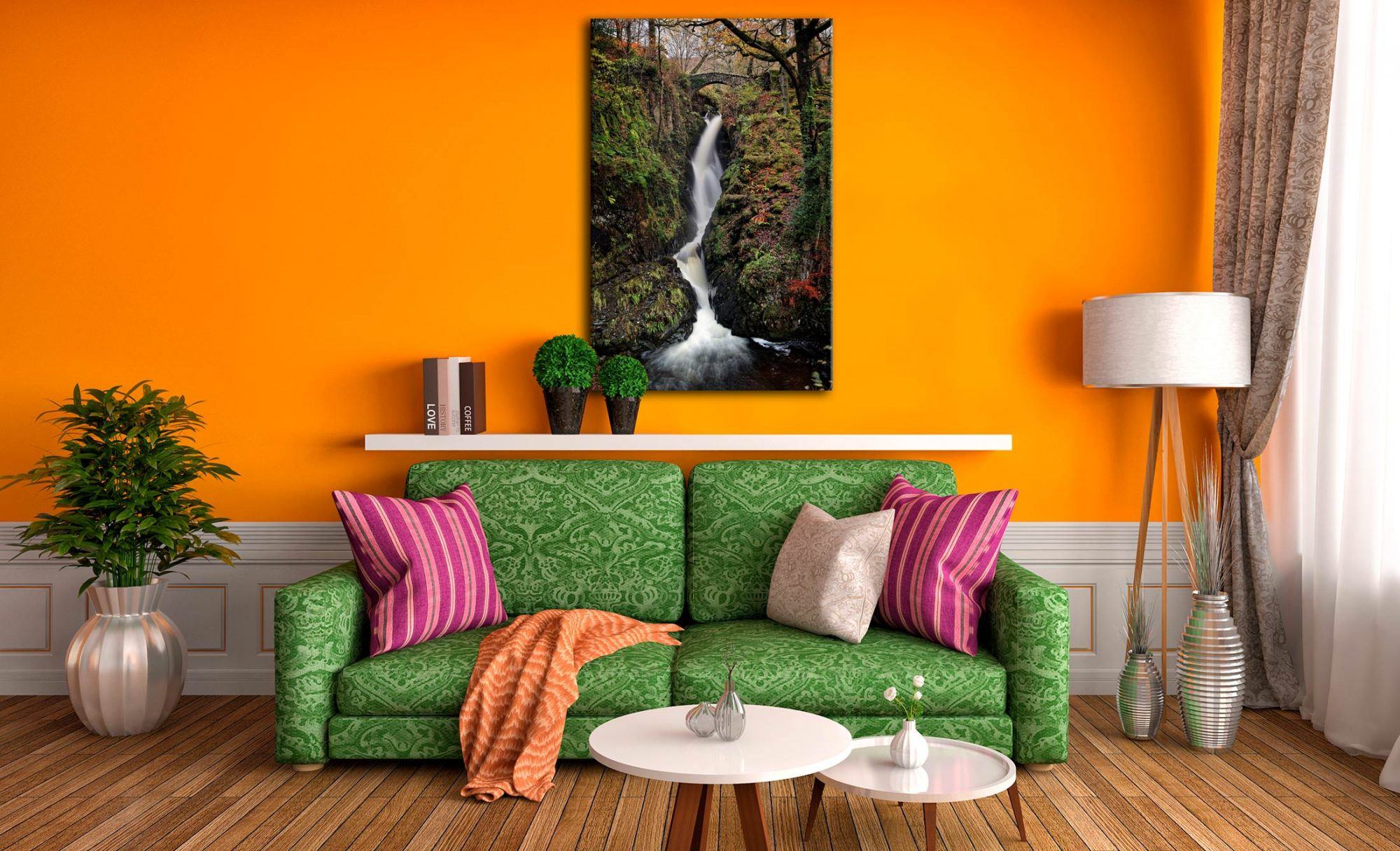 Aira in Full Force - Canvas Print on Wall