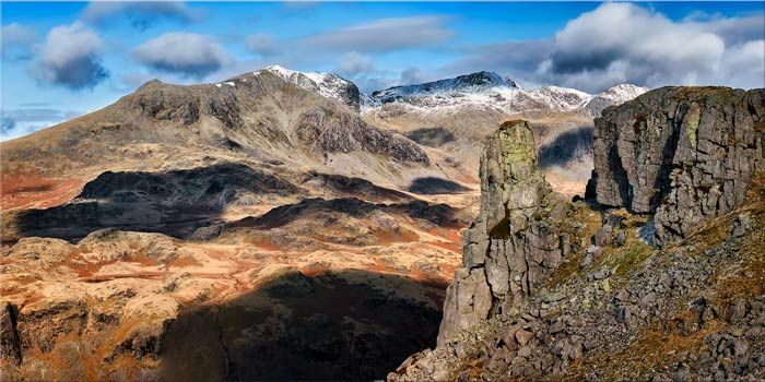 Eskdale Needle and Sca Fell Range