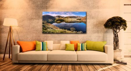 Calmness at Haweswater - Canvas Print on Wall