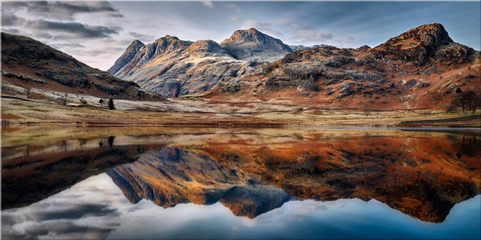 Dusk Over Blea Tarn - Lake District