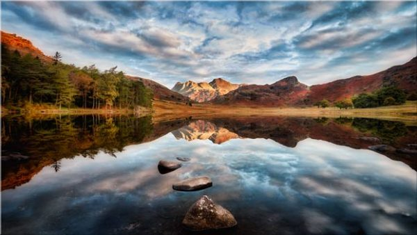 Light on the Langdales - Lake District