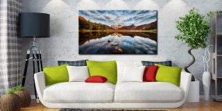Light on the Langdales - Canvas Print on Wall