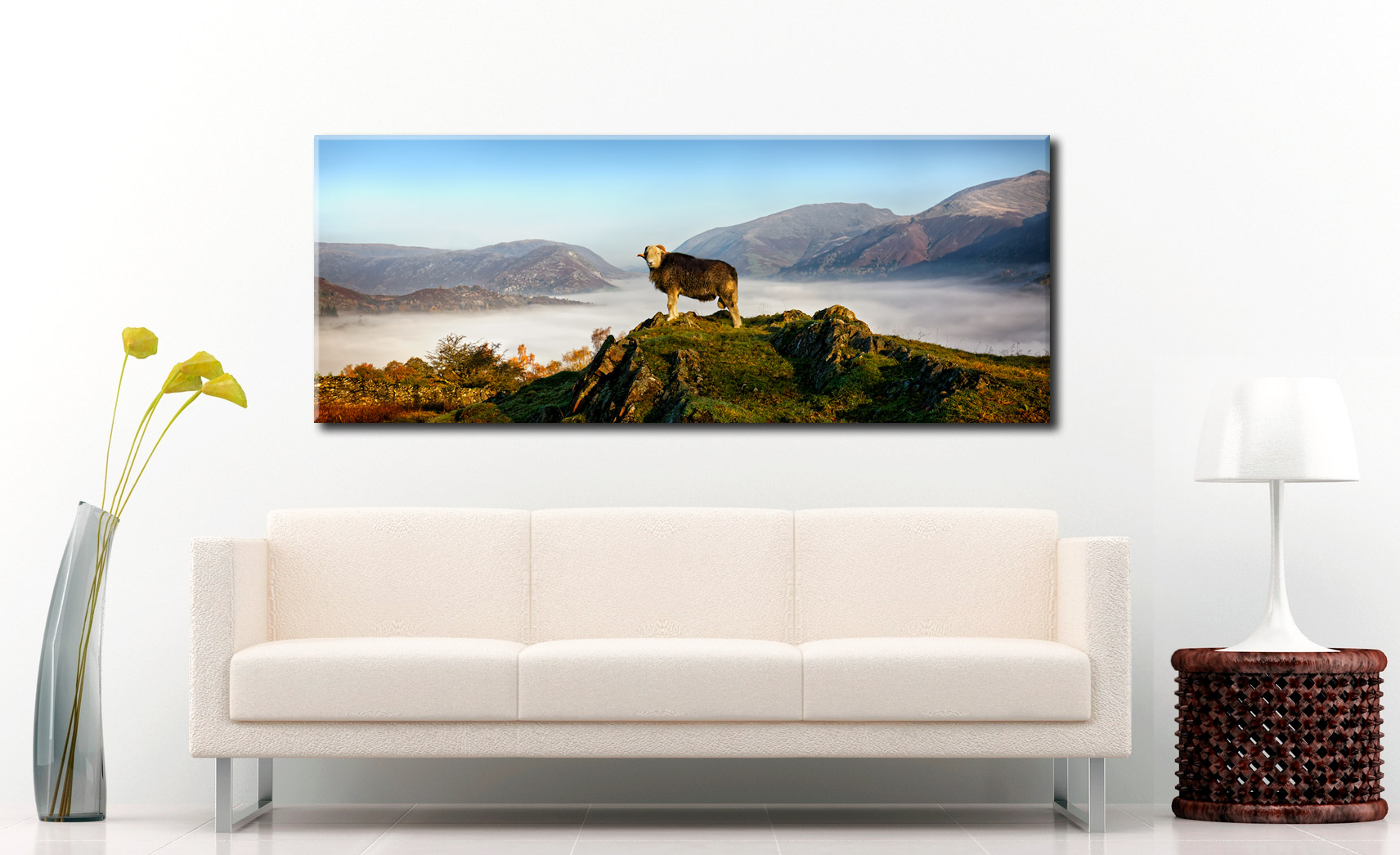 King of Cumbria - Canvas Print on Wall