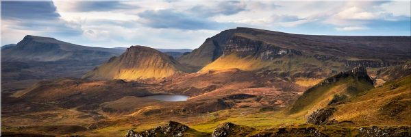 Cleat and Dun Dubh Quiraing - 3 Panel Canvas