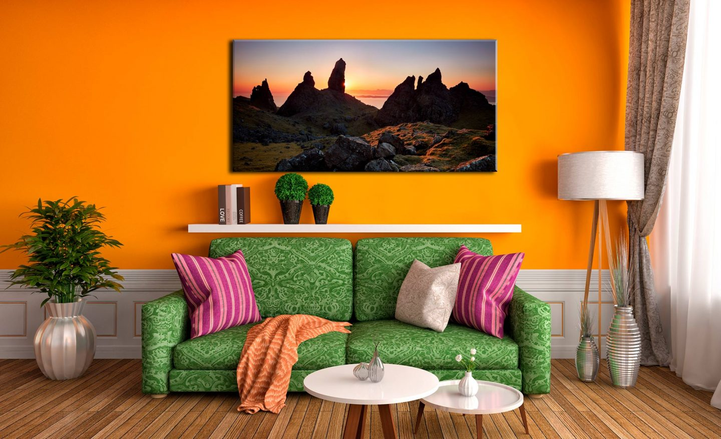 Old Man of Storr Sunrise - Canvas Print on Wall