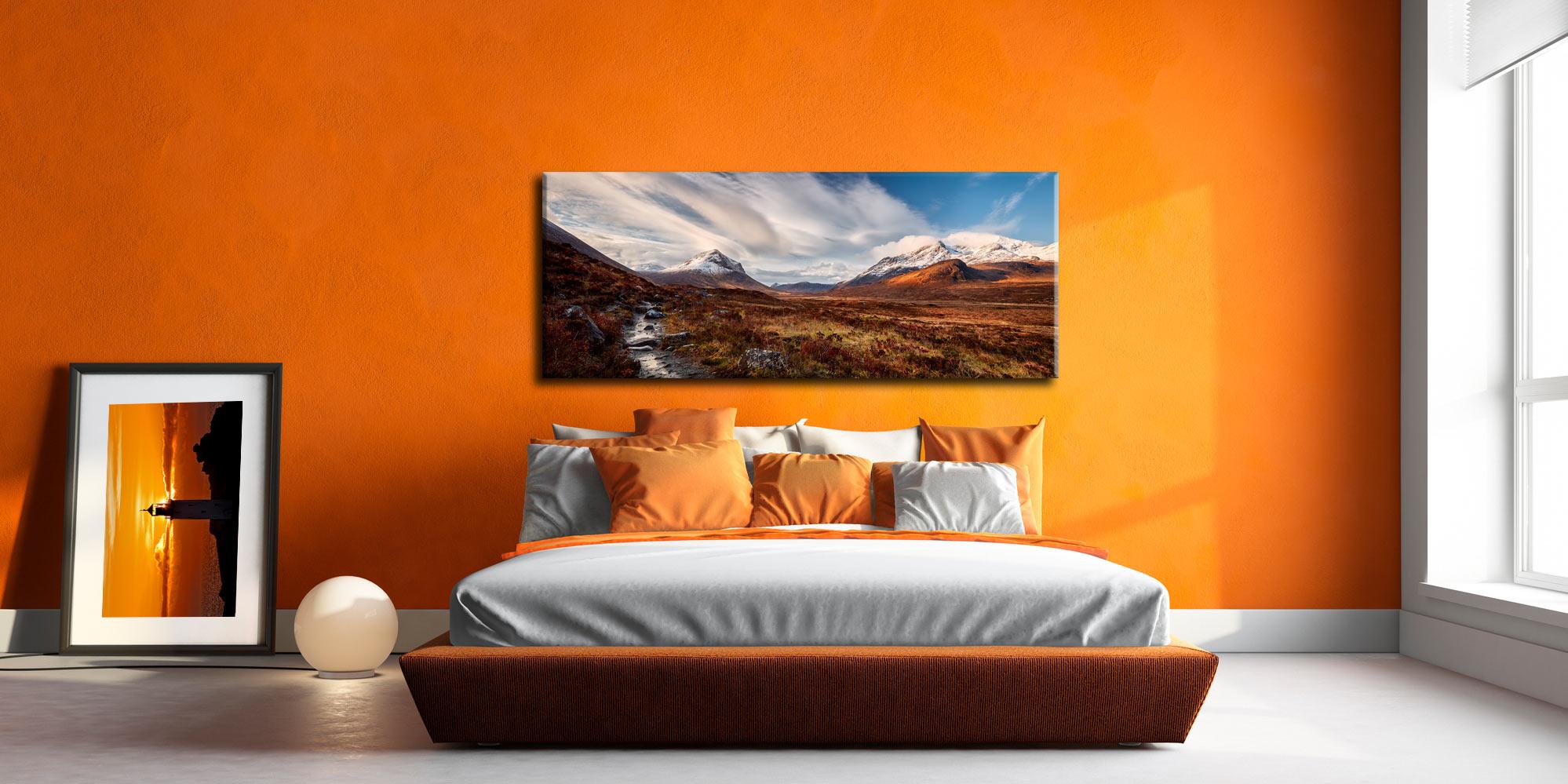 Glen Sligachan Isle of Skye - Canvas Print on Wall