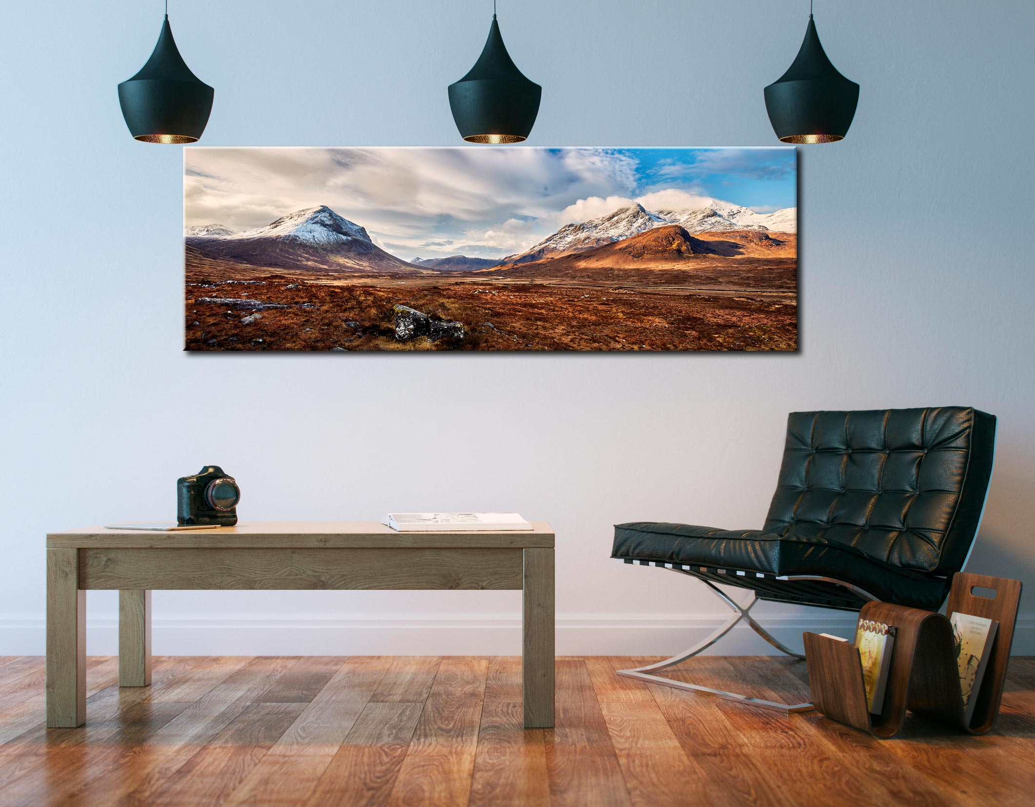 Cuillin Mountains from Glen Sligachan - Canvas Prints Print on Wall