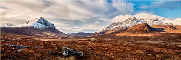 Glen Sligachan Isle of Skye - Canvas Print