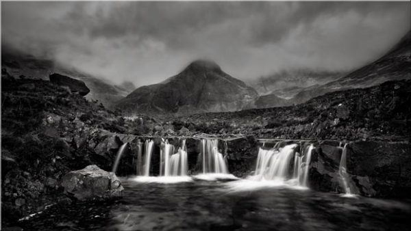 Showers Over Fairy Pools - Canvas Print