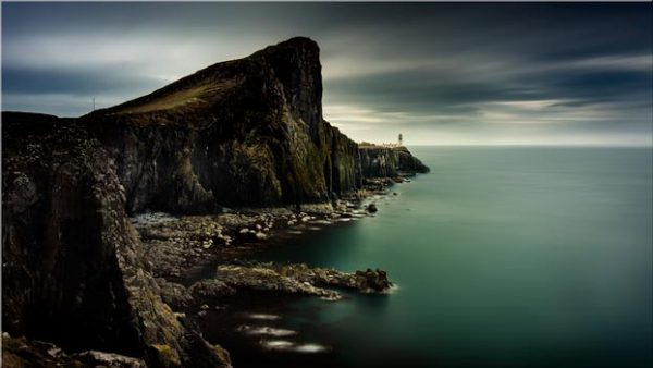 Neist Point Green - Canvas Print