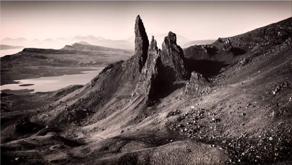 The Storr Isle of Skye - Canvas Print