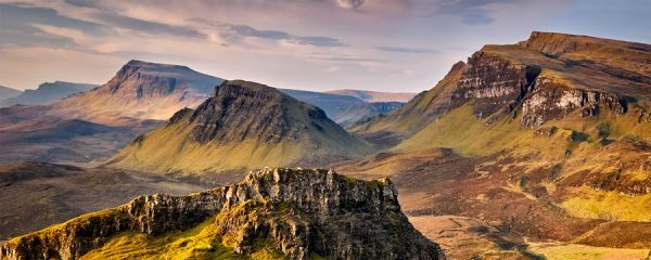 Trotternish Mountains Isle of Skye - Canvas Print