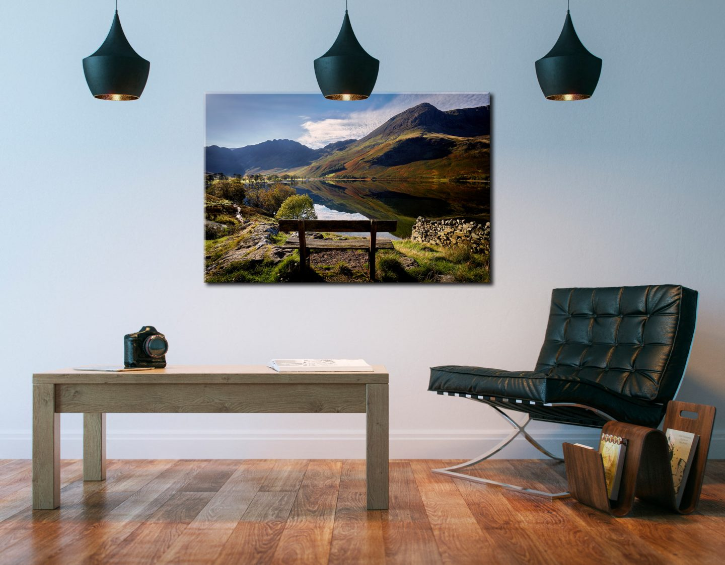 The Buttermere Seat - Canvas Print on Wall