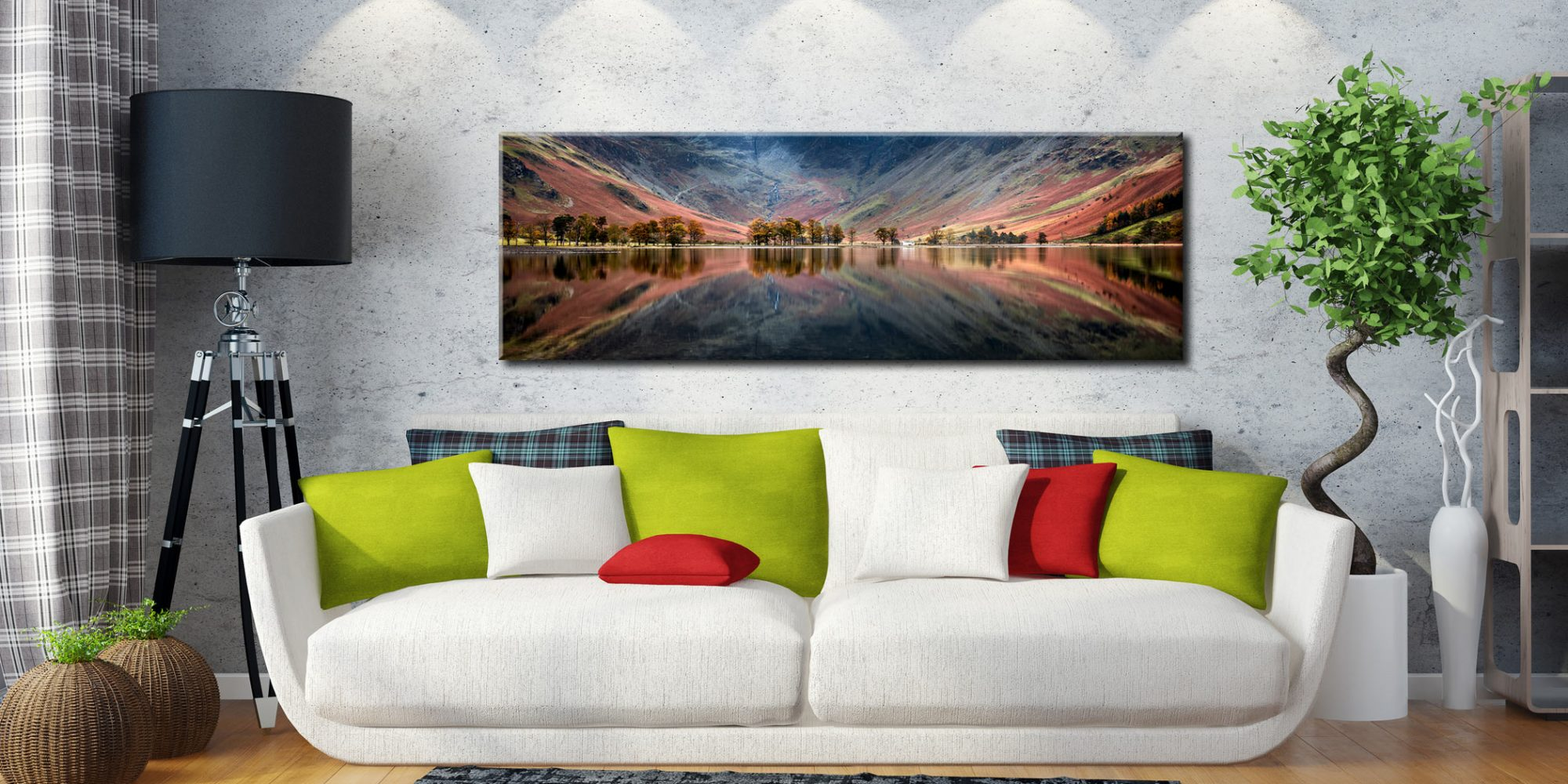 The Buttermere Bowl Canvas on Wall