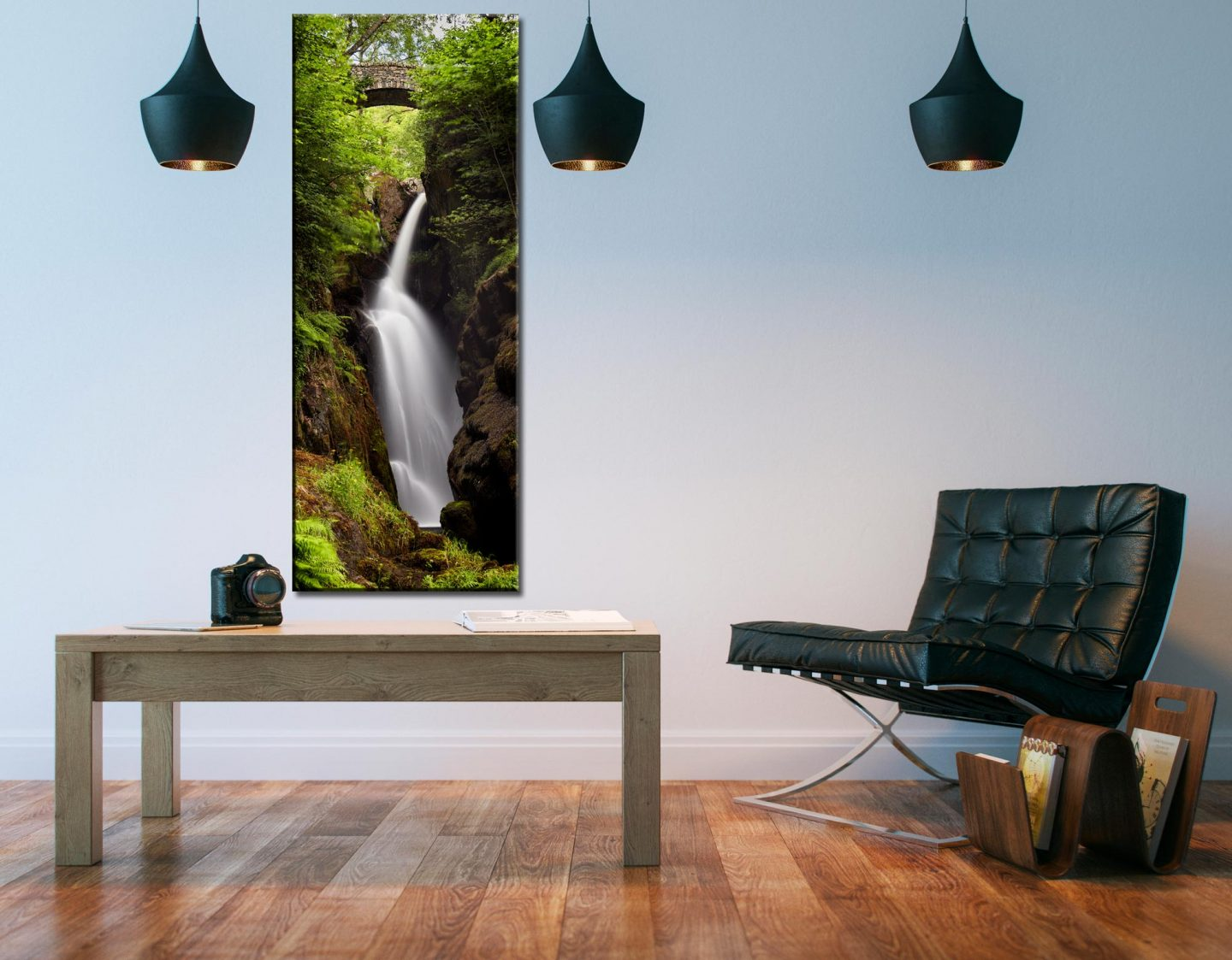 Aira Force in Summer - Canvas Print on Wall