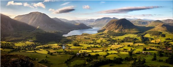 Loweswater Fell Vista - Canvas Print