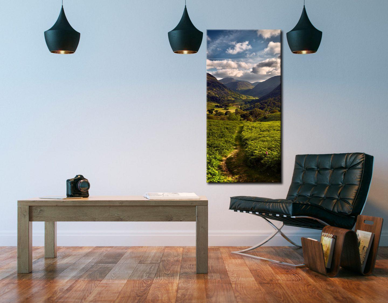 Borrowdale to Seathwaite - Canvas Print on Wall