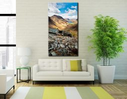 Warnscale Bothy Above Buttermere - Canvas Print on Wall