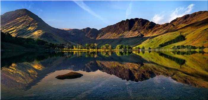 Stillness at Buttermere - Canvas Print