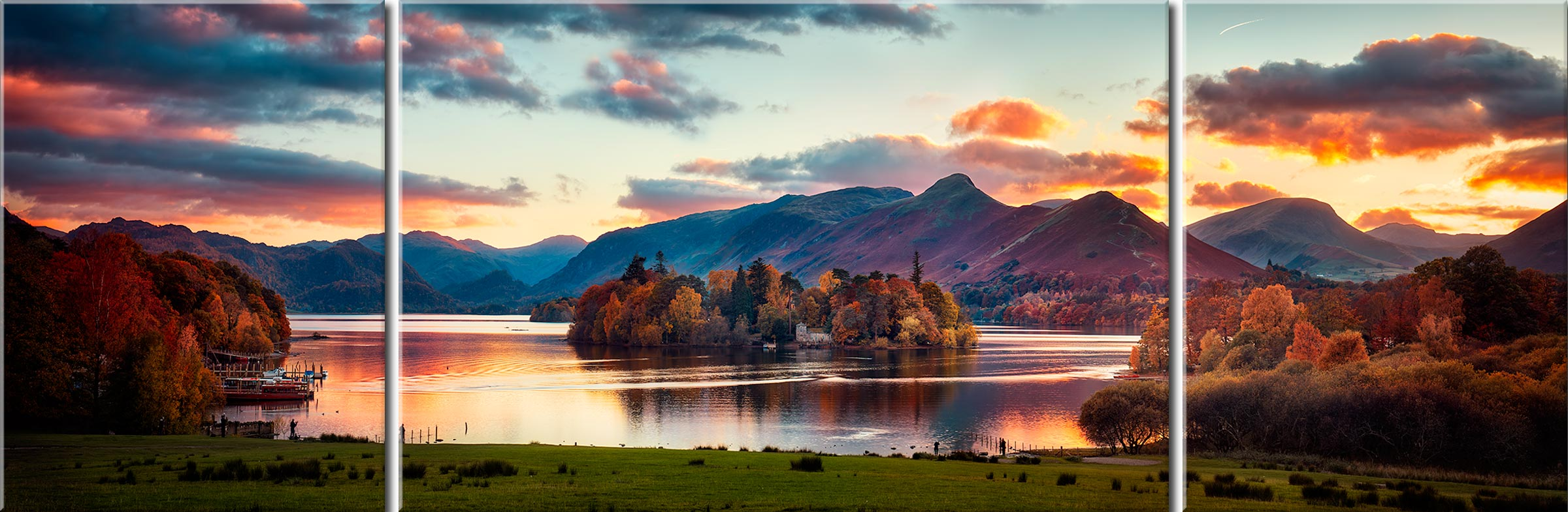 Derwent Water Canvas Gallery