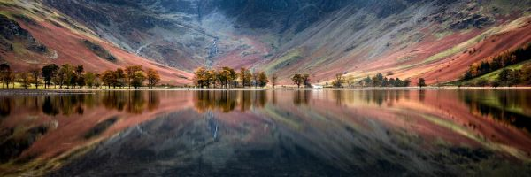 The Buttermere Bowl - Framed Print with Mount