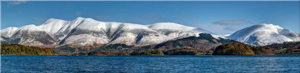 Skiddaw and Saddleback - Canvas Print