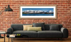 Skiddaw and Saddleback - Framed Print with Mount on Wall