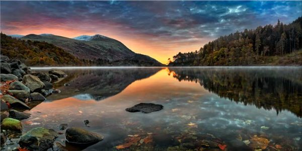 Thirlmere Autumn Dawn - Lake District