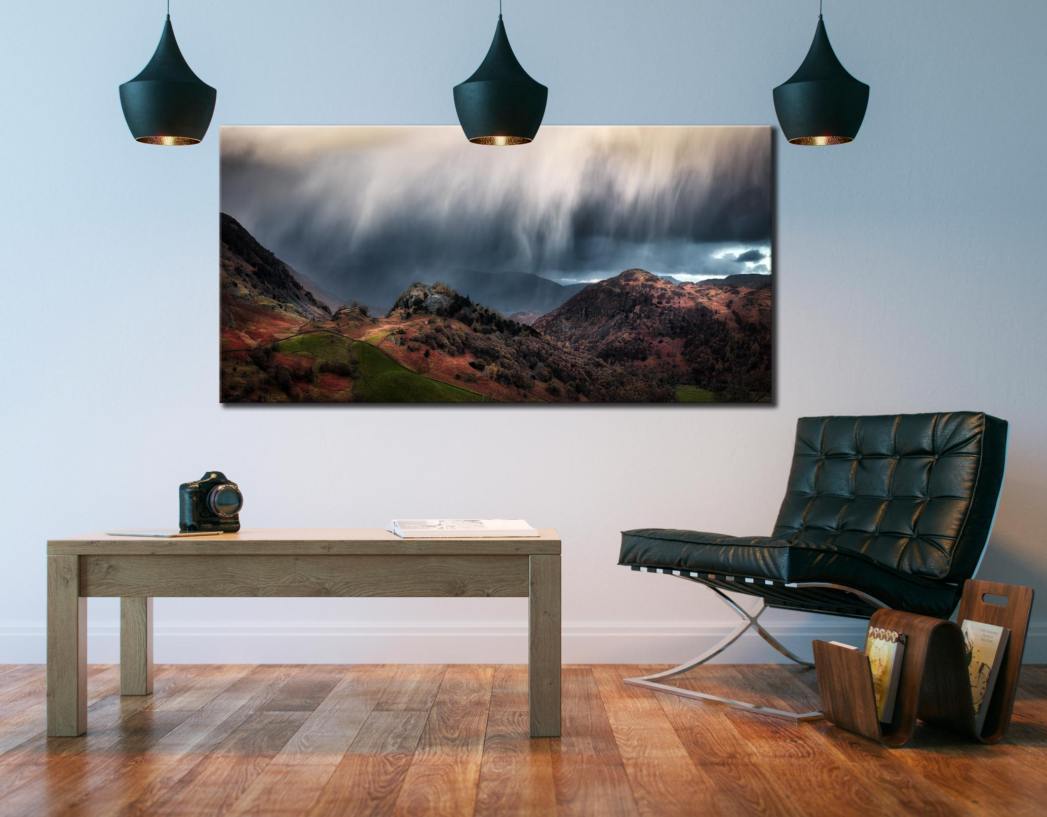 The Rains are a Coming - Canvas Print on Wall