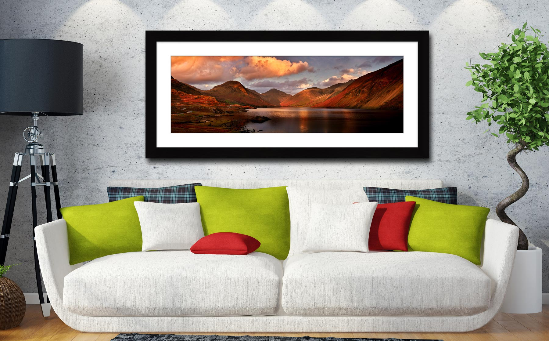 Derwent Water Canvas on Wall