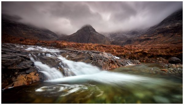 Fairy Pools Swirl - Isle of Skye Print