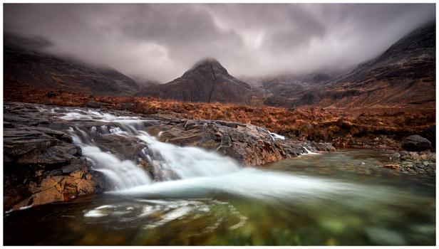 Fairy Pools Swirl - Isle of Skye Print