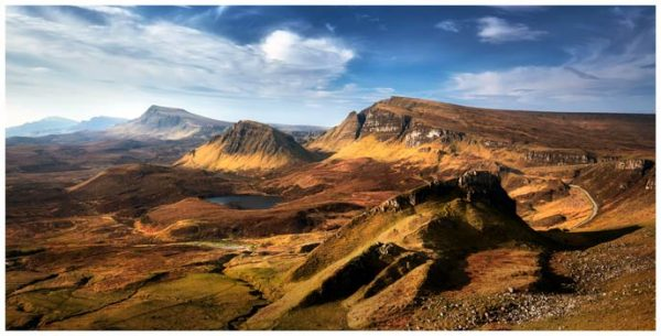 The Quiraing Range - Isle of Skye Print