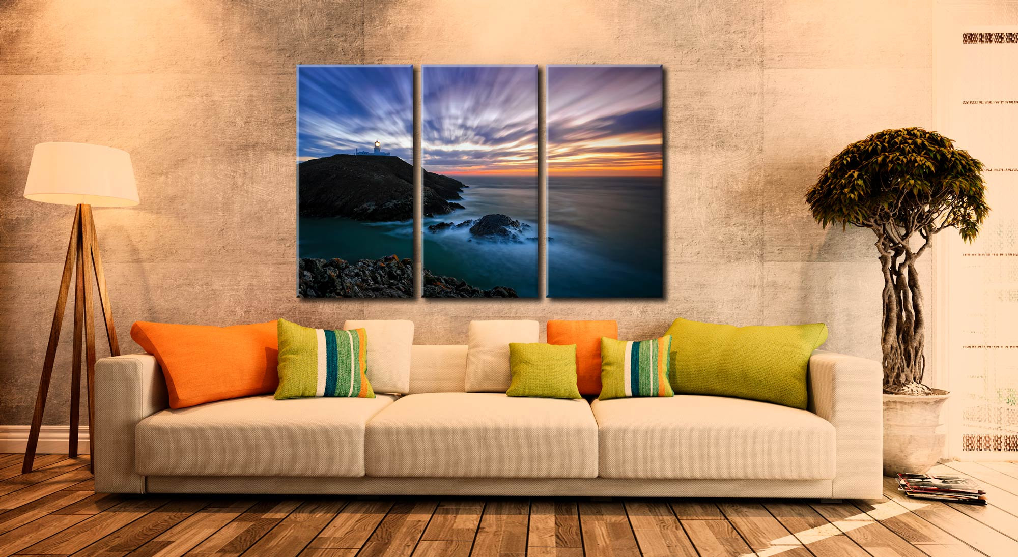 Scotland and Wales Canvas Prints