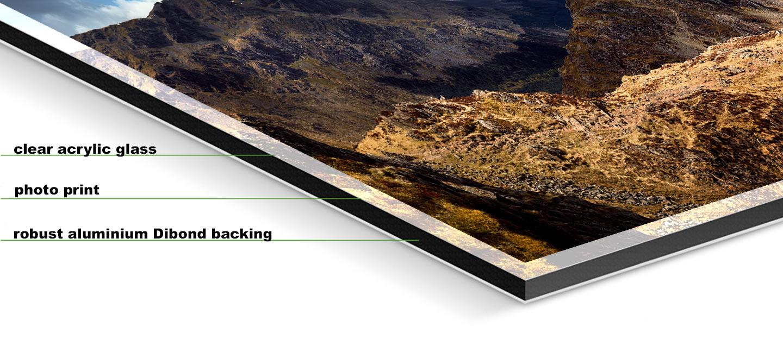 high crag and buttermere panorama aluminium dibond print. Black Bedroom Furniture Sets. Home Design Ideas